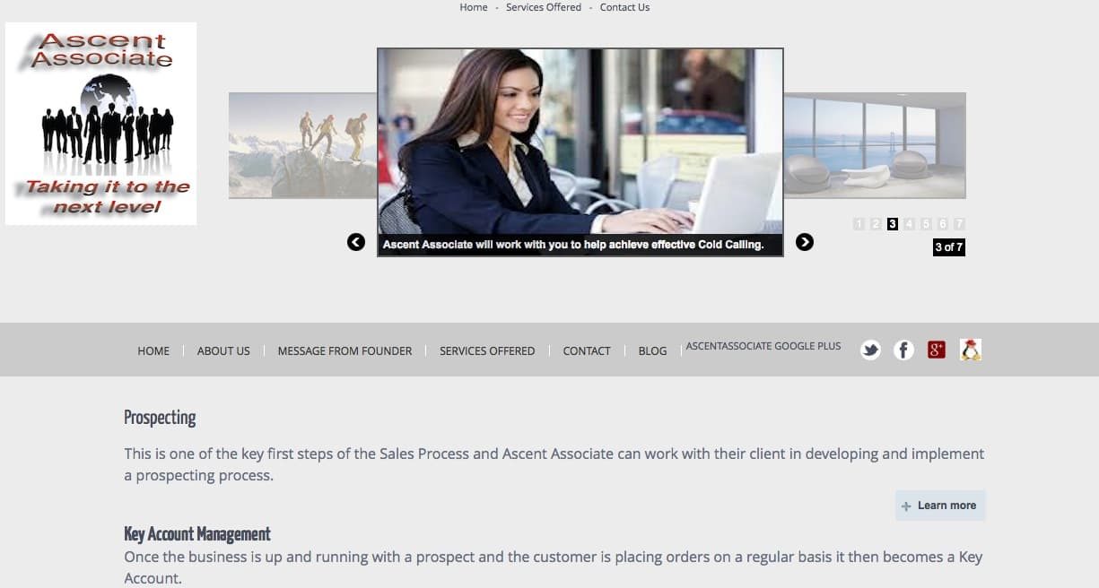 Business Consultant ascent associate SEO Tipperary Ireland